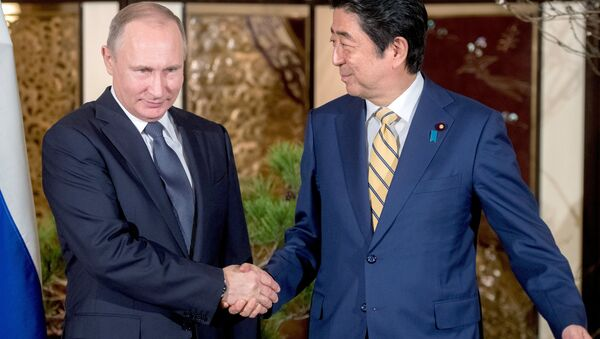 В. Путиннинг Японияга ташрифи - Sputnik Ўзбекистон