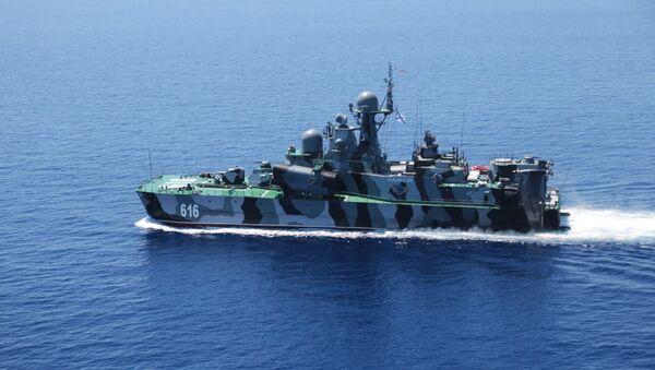 Ракетный корабль на воздушной подушке (РКВП) Самум КНР - Sputnik Узбекистан