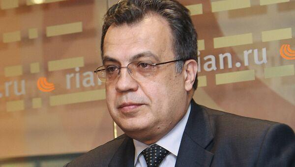 После покушения скончался посол России в Турции Андрей Карлов - Sputnik Узбекистан