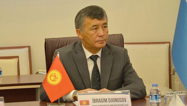 Посол Кыргызстана в Турции Ибрагим Жунусов - Sputnik Узбекистан