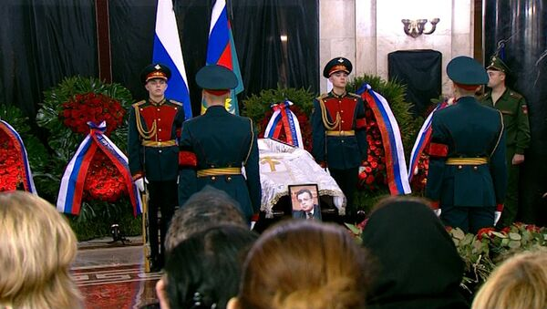 СПУТНИК_В Москве простились с послом России в Турции Андреем Карловым - Sputnik Узбекистан