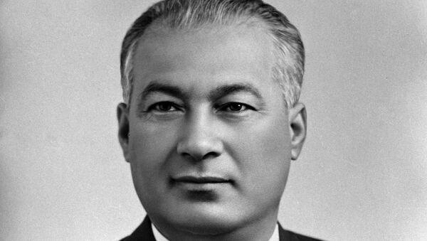 Pervыy sekretar TSK KP Uzbekistana SH.R.Rashidov - Sputnik Oʻzbekiston