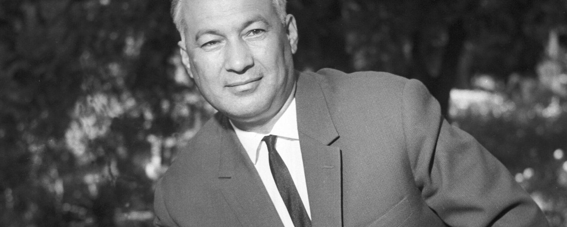 Pervыy sekretar TSK KP Uzbekistana SH.R.Rashidov - Sputnik Oʻzbekiston, 1920, 30.06.2021