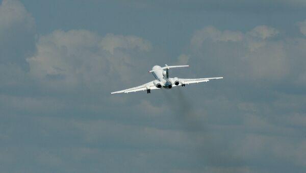 Самолет Ту-154М, аварийно севший в Коми, отремонтирован в Самаре - Sputnik Ўзбекистон