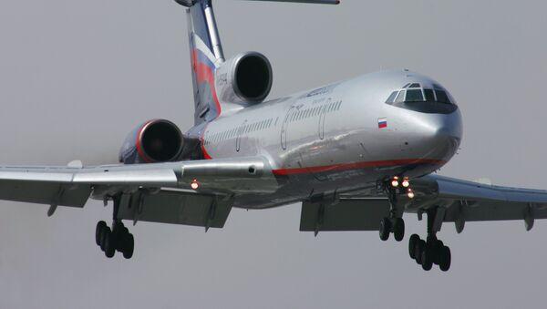 Самолет ТУ-154 М - Sputnik Ўзбекистон