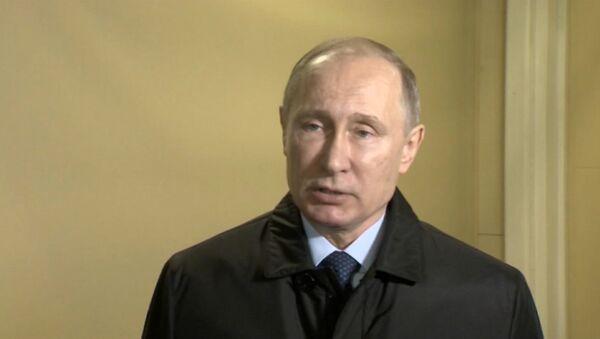 Путин выразил соболезнования в связи с крушением Ту-154 - Sputnik Ўзбекистон