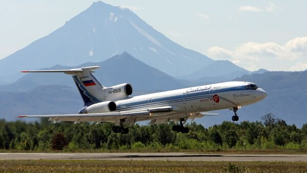 Самолет Ту-154 - Sputnik Ўзбекистон