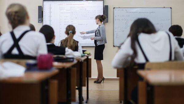 Interaktivnaya shkola v Volgograde - Sputnik Oʻzbekiston