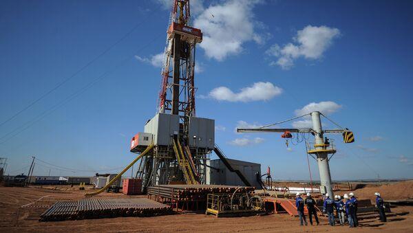 Добыча газа в Оренбургской области - Sputnik Узбекистан