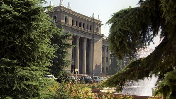 Dushanbe shahridagi prezident saroyi - Sputnik Oʻzbekiston