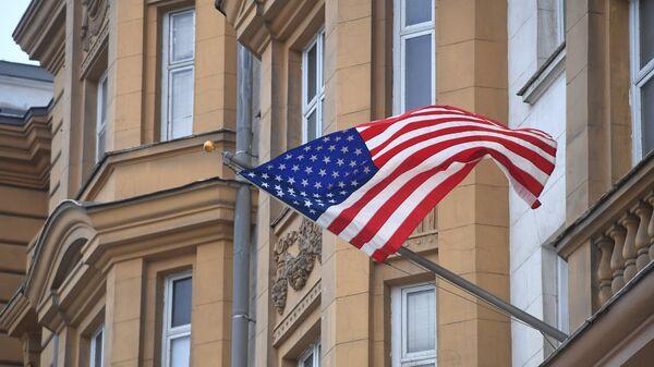 Здание посольства США в Москве - Sputnik Ўзбекистон