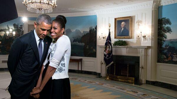 Barak va Mishel Obama - Sputnik Oʻzbekiston