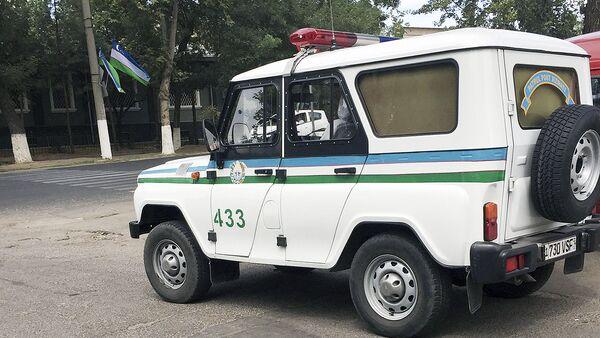 Патрульная машина узбекской милиции - Sputnik Ўзбекистон