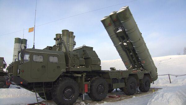 S-400 Triumf jangovor navbatchilikka kirishdi - Sputnik Oʻzbekiston