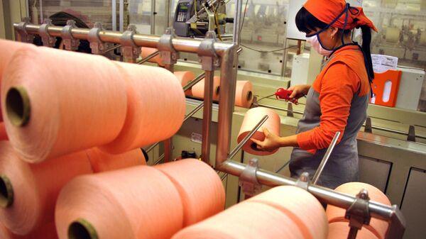 Tekstilnыe fabriki Uztex Chirchik i Eurotex Global v Uzbekistane - Sputnik Oʻzbekiston
