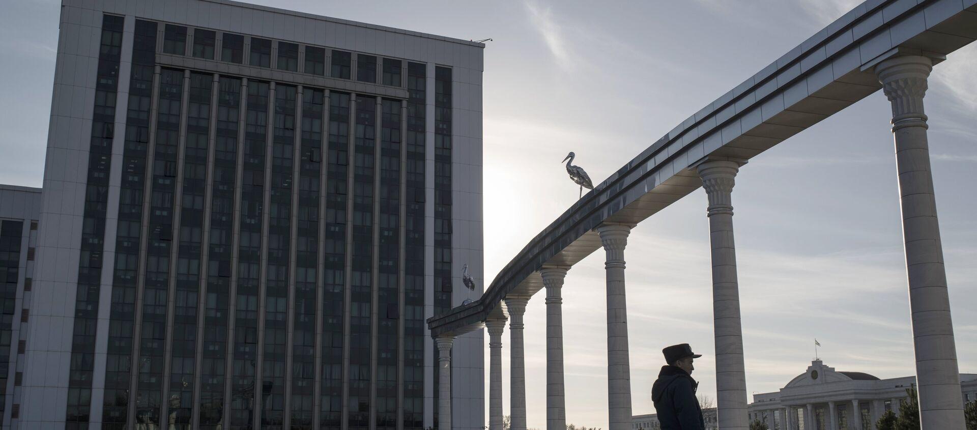 Здание Министерства финансов Узбекистана в Ташкенте - Sputnik Узбекистан, 1920, 22.05.2019