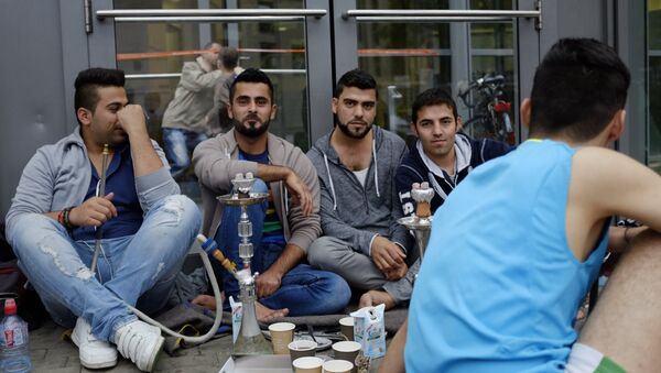 Ситуация с мигрантами в Гамбурге - Sputnik Узбекистан