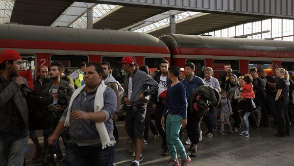 Ситуация с мигрантами в Германии - Sputnik Узбекистан