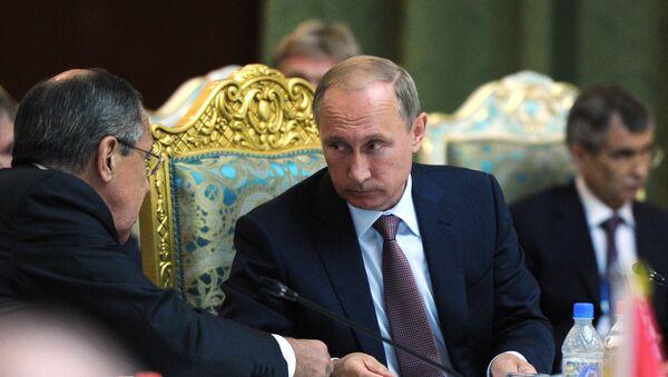 Rossiya prezidenti Putinning Todjikistonga safari - Sputnik Oʻzbekiston