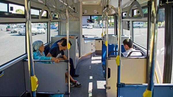 Avtobus saloni - Sputnik Oʻzbekiston