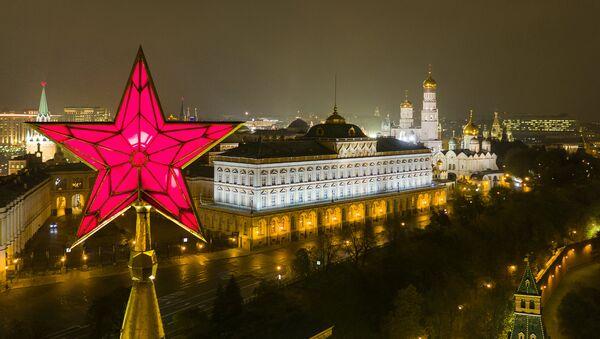 Tungi Kreml, Moskva - Sputnik Oʻzbekiston