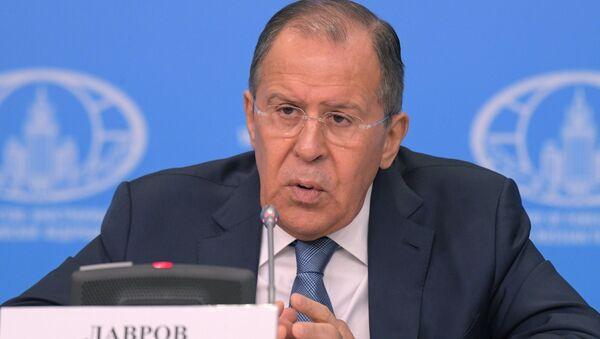 Press-konferentsiya ministra inostrannыx del RF S. Lavrova - Sputnik Oʻzbekiston