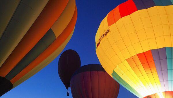 Воздушные шары в небе - Sputnik Узбекистан
