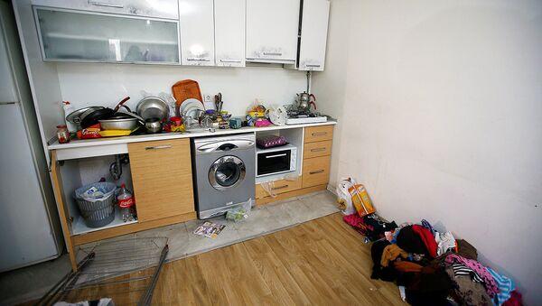 Квартира, где скрывался подозреваемый в теракте Абдулгадир Машарипов - Sputnik Узбекистан