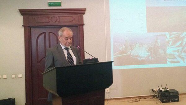 Представитель Экологического движения Узбекистана Александр Григорьянц - Sputnik Узбекистан