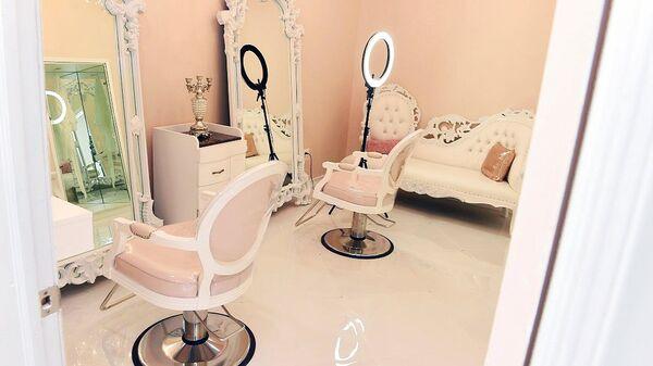 Салон красоты для женщин-мусульманок - Sputnik Узбекистан