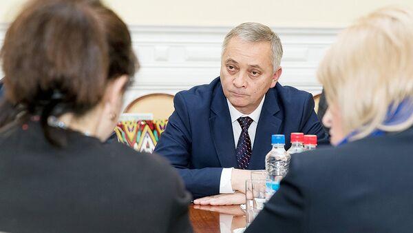 Rossiya madaniyat vazirligidagi uchrashuv - Sputnik Oʻzbekiston