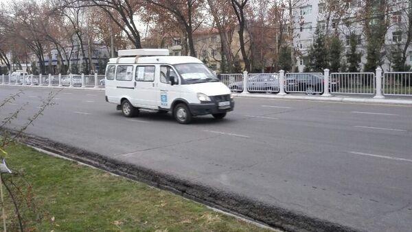 Маршрутка в Ташкенте - Sputnik Узбекистан