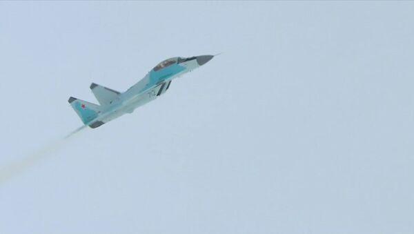 Спутник_Демонстрационный полет истребителя МиГ-35 - Sputnik Узбекистан