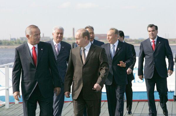 Rossiya prezidenti bilan Sankt-Peterburgda - Sputnik Oʻzbekiston