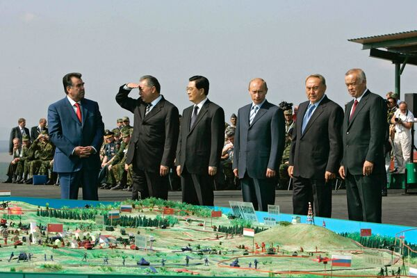 SHHT terrorchilikka qarshi oʻtkazgan tadbir - Sputnik Oʻzbekiston