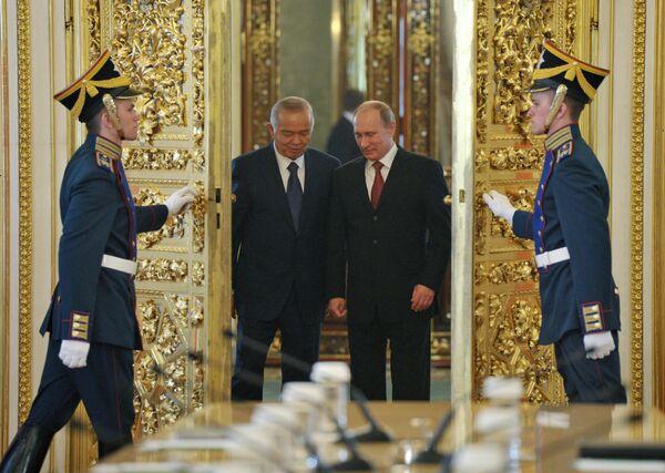 Oʻzbekiston Respublikasi prezidentining Moskvaga tashrifi - Sputnik Oʻzbekiston