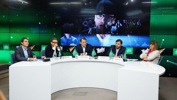 Пресс-конференция о запуске проекта Ты-супер - Sputnik Узбекистан
