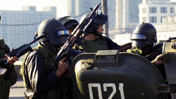 Бойцы специальных подразделений - Sputnik Узбекистан