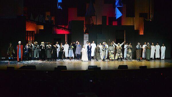 Премьера представления Мавлид Ан-Наби. Утерянное завещание - Sputnik Узбекистан