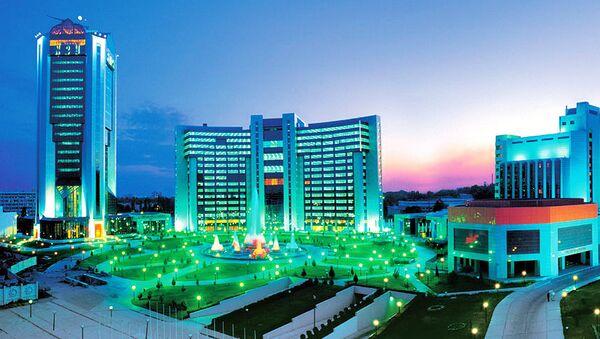 Международный бизнес-центр в Ташкенте - Sputnik Ўзбекистон