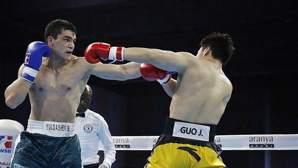 Бокс: Uzbek tigers vs China dragons - Sputnik Узбекистан