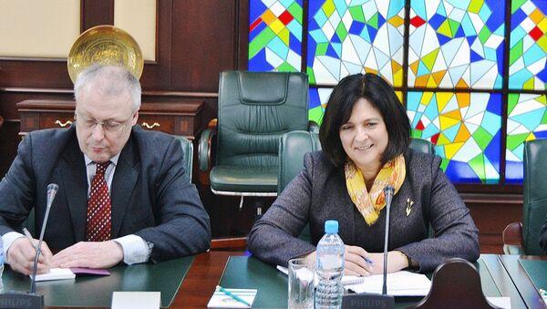 Direktor po Tsentralnoy Azii i Rossii Natalya Xanjenkova - Sputnik Oʻzbekiston