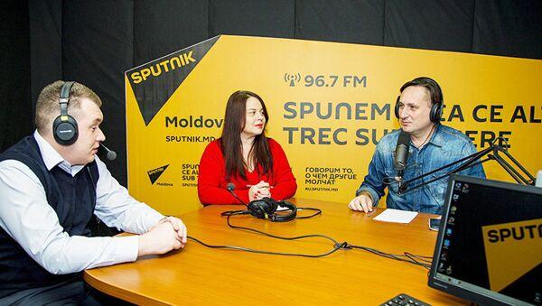 Андрей Петрик, Сергей Цуркану и Наталья Иовва - Sputnik Узбекистан
