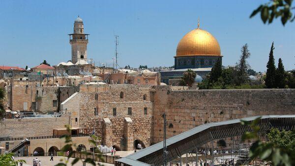 Старый город в Иерусалиме - Sputnik Ўзбекистон