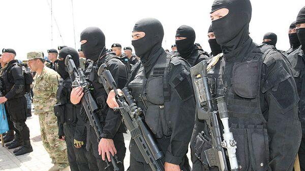 Антитеррористические учения КНБ - Sputnik Узбекистан