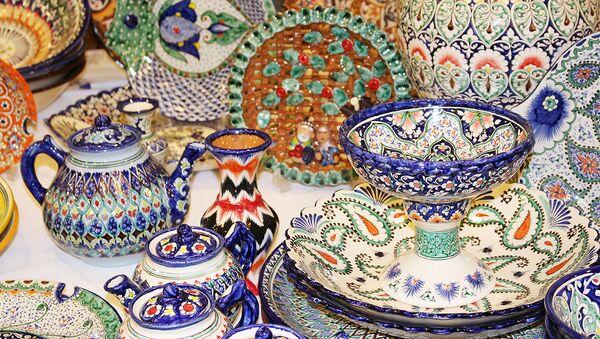 Выставка ручных работ в International Hotel Tashkent - Sputnik Узбекистан