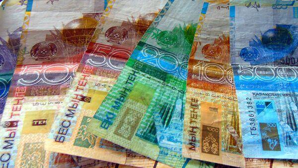 Тенге - национальная валюта Казахстана - Sputnik Ўзбекистон