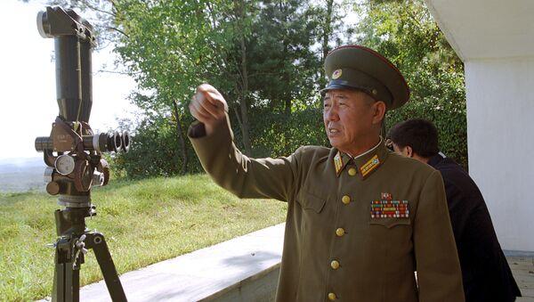 Shimoliy va Janubiy koreya oʻrtasidagi chegara - Sputnik Oʻzbekiston