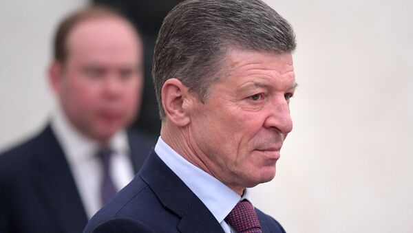 Zamestitel predsedatelya pravitelstva RF Dmitriy Kozak - Sputnik Oʻzbekiston