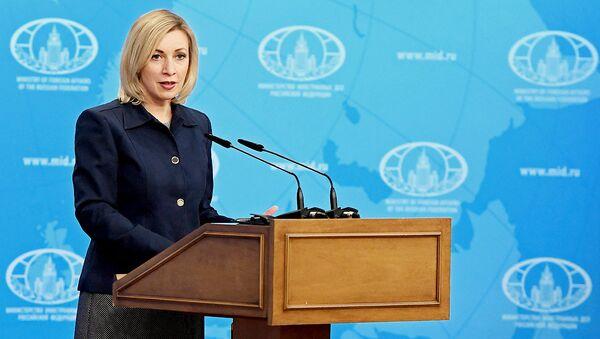 Ofitsialnыy predstavitel ministerstva inostrannыx del Rossii Mariya Zaxarova - Sputnik Oʻzbekiston